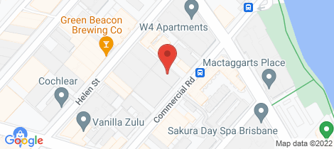 Location map for 132-134 Commercial Road Teneriffe