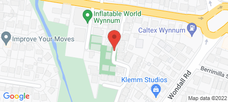 Location map for 2/232 Preston Road Wynnum West