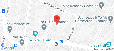 Location map for 15 Garling Street Red Hill