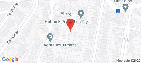 Location map for 12 Glanmire Street Paddington