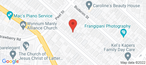 Location map for 43 Fisher Street Manly
