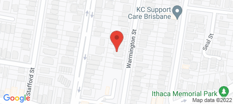 Location map for 30 Warmington Street Paddington