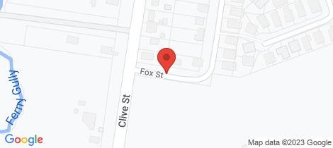 Location map for 152 Fox Street Fernvale