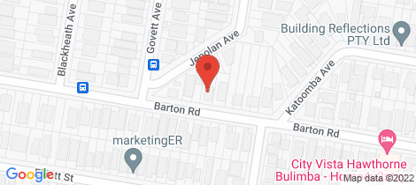 Location map for 109 Barton Road Hawthorne