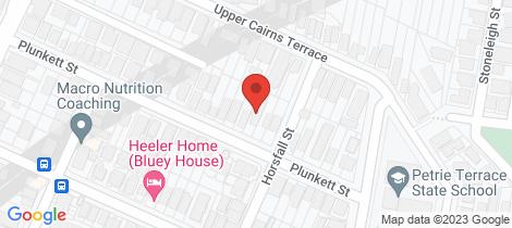 Location map for 19 Plunkett Street Paddington