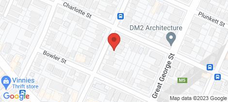 Location map for 19 Hayward Street Paddington