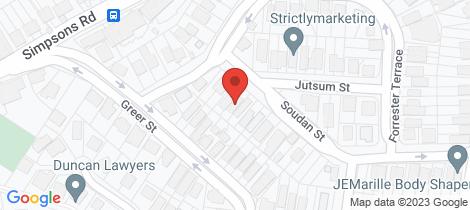 Location map for 50 Soudan Street Bardon
