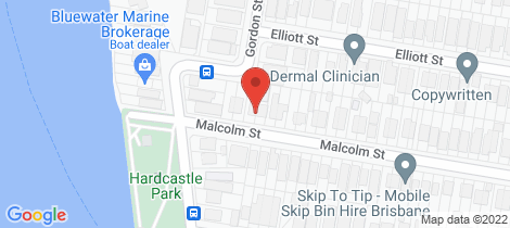 Location map for 113 Malcolm Street Hawthorne