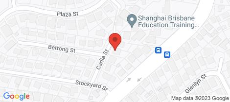 Location map for 7 Carlia Street Wynnum West