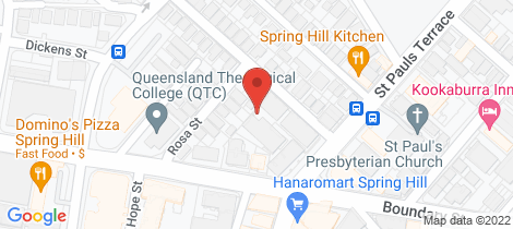 Location map for 61/2-22 St Pauls Terrace Spring Hill