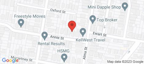 Location map for 11 Annie St Paddington