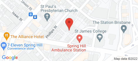 Location map for 24/20 McConnell Street Spring Hill