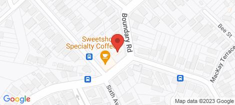 Location map for 2203/1 Stuartholme Road Bardon