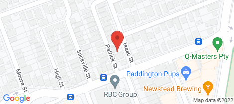 Location map for 41 Isaac Street Milton