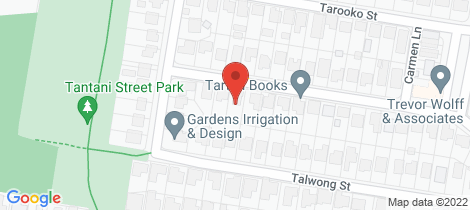 Location map for 9 Tulkara Street Manly West