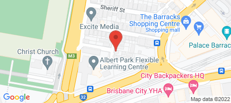 Location map for 31 Clifton Street Petrie Terrace