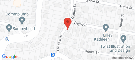 Location map for 9 Fairseat Street Bardon