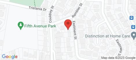 Location map for 64 Eastment Street Bardon
