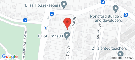 Location map for 26 Eton Street Toowong