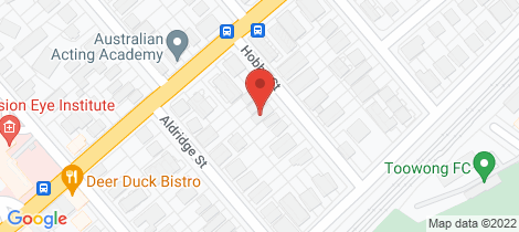 Location map for 20 Hobbs Street Auchenflower
