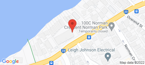Location map for 102/90 Wynnum Rd Norman Park