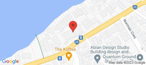 Location map for 222/90 Wynnum Rd Norman Park
