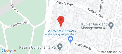 Location map for 35A Musgrave Street Toowong