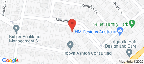 Location map for 40 Markwell Street Auchenflower