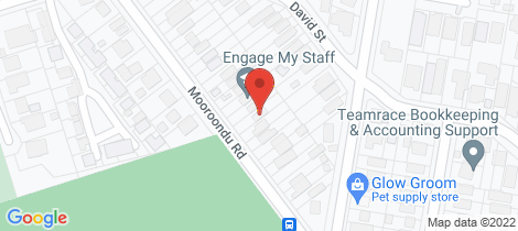 Location map for 179 Mooroondu Road Thorneside