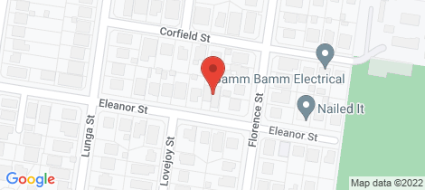 Location map for 48 Eleanor Street Carina