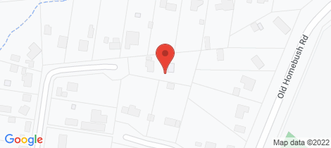 Location map for 21 Mansel Drive Gowrie Junction