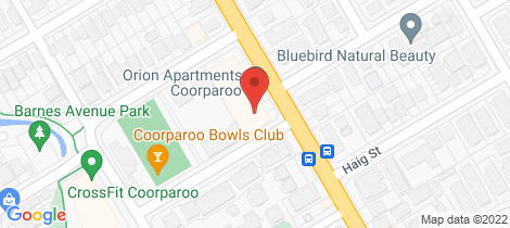 Location map for 1093/123 Cavendish Road Coorparoo