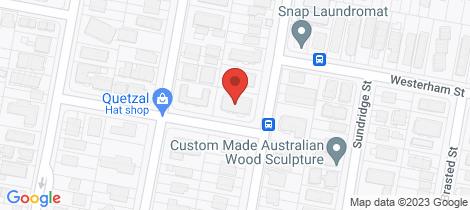 Location map for 5/95 Whitmore Street Taringa