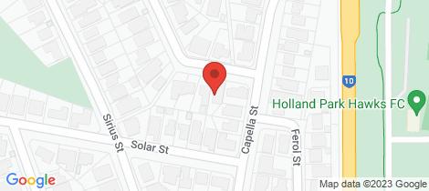 Location map for 151 Buena Vista Avenue Coorparoo