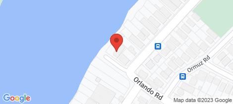 Location map for 69 Orlando Road Yeronga