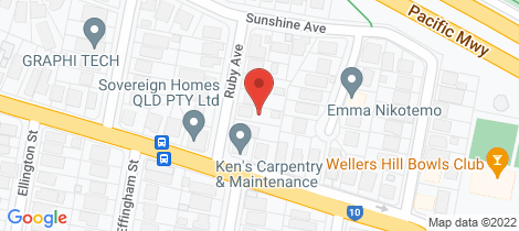 Location map for 7 Ruby Avenue Tarragindi