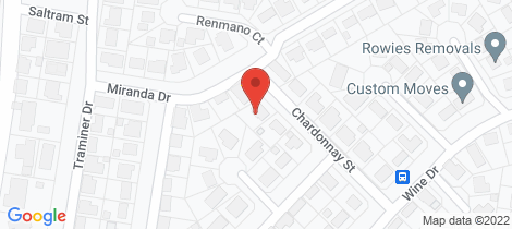 Location map for 3 Chardonnay Street Wilsonton Heights
