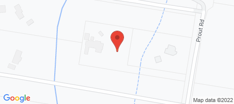 Location map for 126 Prout Road Mackenzie
