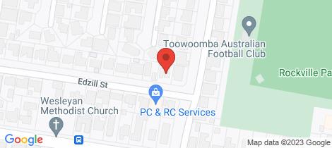 Location map for 3 Edzill Street Wilsonton Heights