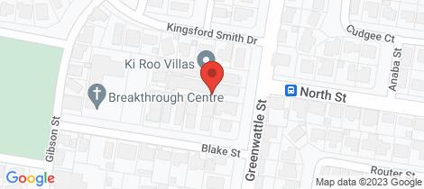 Location map for 1/351 Greenwattle Street Wilsonton