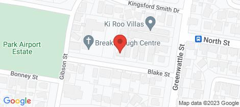 Location map for 2/9 Blake Street Wilsonton