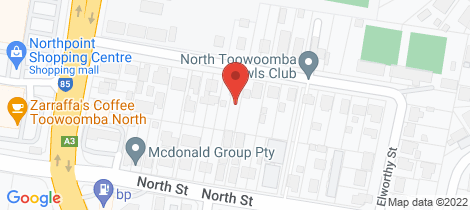 Location map for 18 Lemnos Street Harlaxton