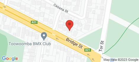 Location map for 361 Bridge Street Wilsonton