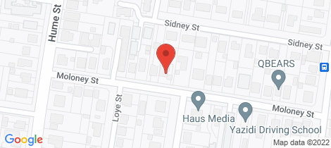 Location map for 23 Moloney Street North Toowoomba