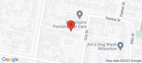 Location map for 4/1 Cox Street Wilsonton