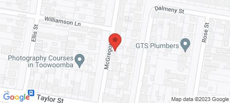 Location map for 22 McGregor Street Wilsonton