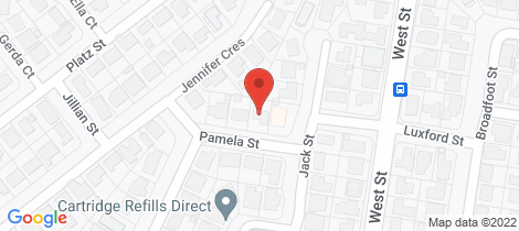 Location map for 7 Pamela Street Darling Heights