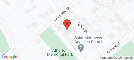 Location map for 19 Beatrice Street Drayton