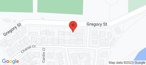 Location map for 8 Gregory Street Wulkuraka