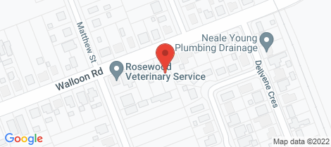 Location map for 6 Walloon Road Rosewood